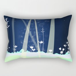late Rectangular Pillow
