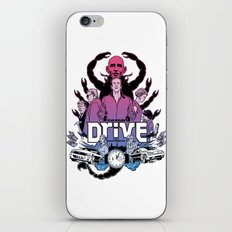 Drive front cover iPhone & iPod Skin