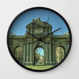 Puerta de Alcala Wall Clock