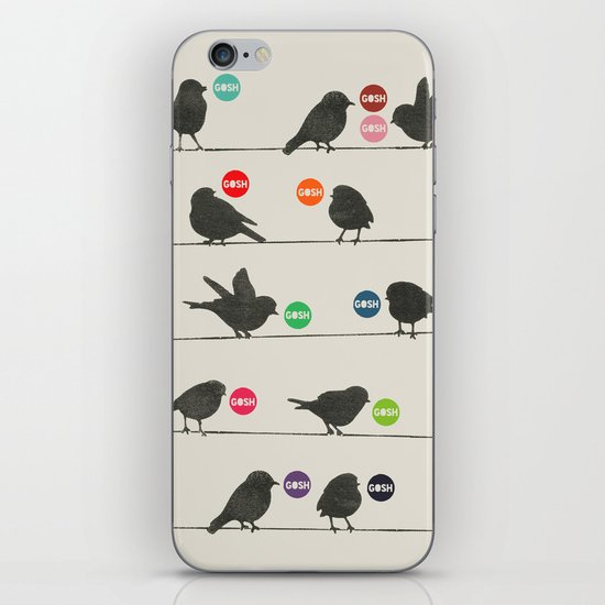 Birdsong_Gosh by Garima & Rachel  iPhone & iPod Skin