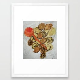 Riches and Something Sweet Framed Art Print