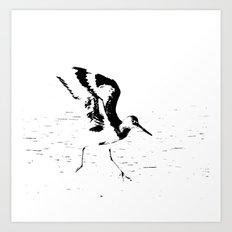 Little Dancer-b&w Art Print