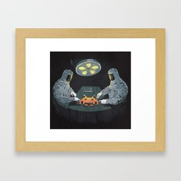 Alien Autopsy Framed Art Print