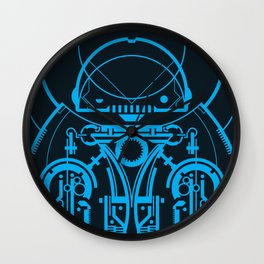 Robot Wall Clock