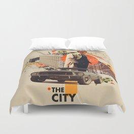 The City 1968 Duvet Cover