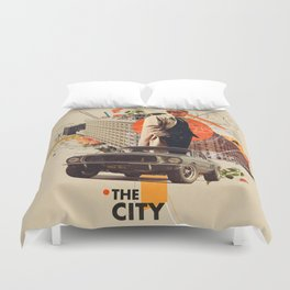 The City 1968 Duvet Cover