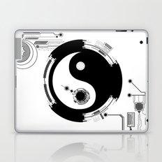 Tech Yin Yang Laptop & iPad Skin