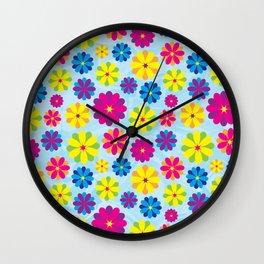 Flowers_101 Wall Clock