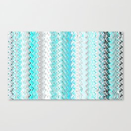 Squares and Lines Canvas Print