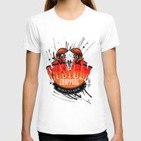 custom T-shirts featuring Custom Choppers by BerkKIZILAY