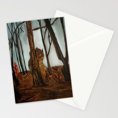 the wild unknown  Stationery Cards