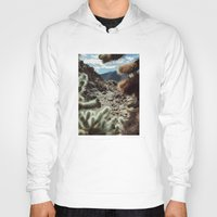 frame Hoodies featuring Cholla Frame by Kevin Russ