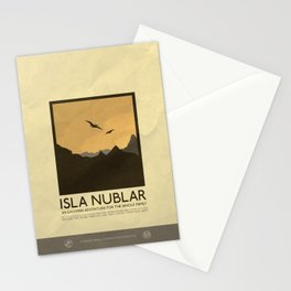 Silver Screen Tourism: Isla Nublar / Jurassic Park World Stationery Cards