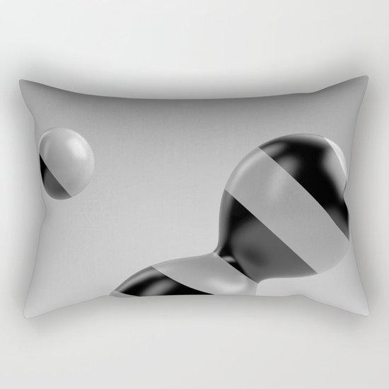 Abstract Balance Rectangular Pillow