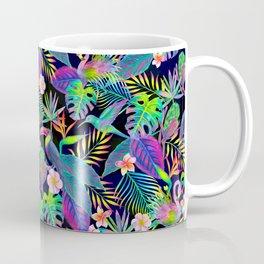 Abundant Neon Paradise Coffee Mug
