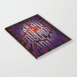 Azarath Metrion Zinthos Notebook
