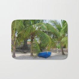 BLUE CARIBBEAN BOAT Bath Mat