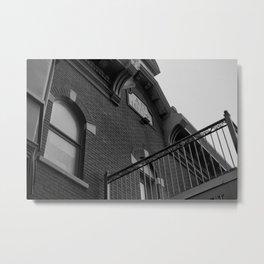 Bank Hotel - Vieux Hull Metal Print