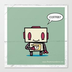 Coffee? Canvas Print