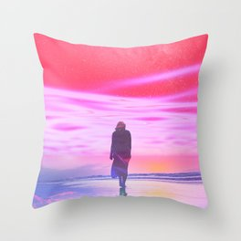 ENTER DREVMS II Throw Pillow