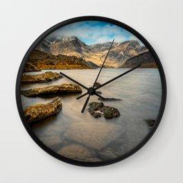Ogwen Lake Snowdonia Wall Clock