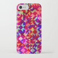 gem iPhone & iPod Cases featuring Geo Gem by Amy Sia