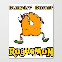 Dumpin' Donut Canvas Print