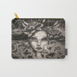 Lake Spirit pencil and charcoal Carry-All Pouch