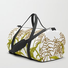 Corn maize pattern Duffle Bag