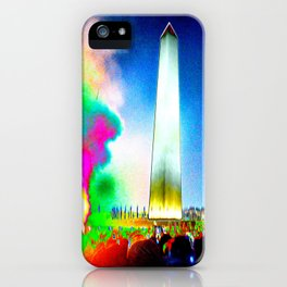 Catharsis on the Mall - 2017 iPhone Case
