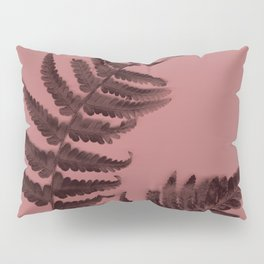 Fern on marsala Pillow Sham
