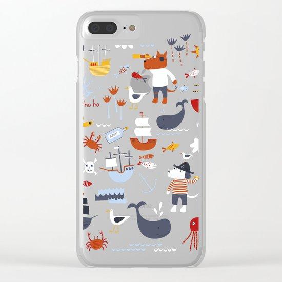 Yo Ho Ho! Clear iPhone Case