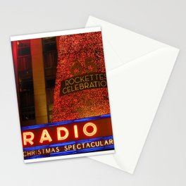 Radio City Music Hall, NYC Stationery Cards