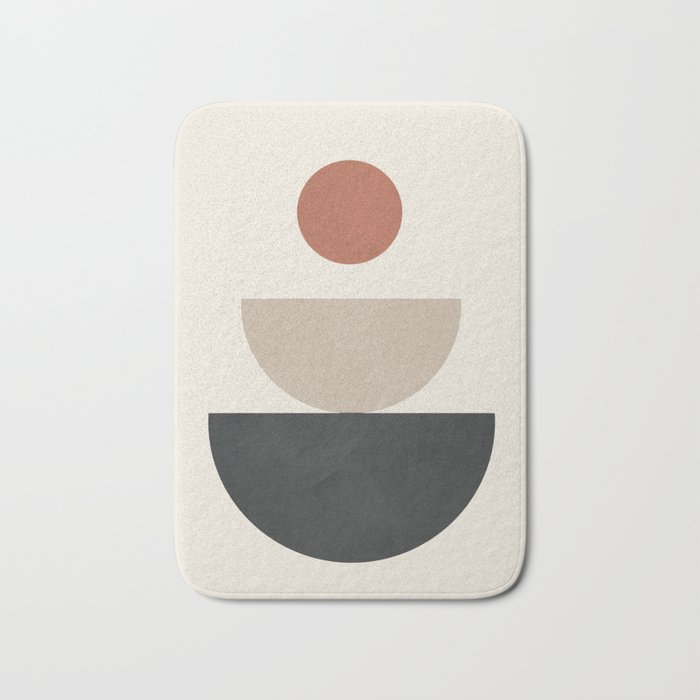 Geometric Modern Art 30 Bath Mat