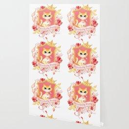Purrrfectly Pretty Kitty Wallpaper