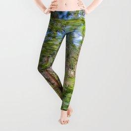 Tree Blur Leggings