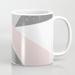 Grunge Geometric Retro Pattern Coffee Mug