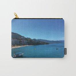 Puerto Vallarta Beach 1 Carry-All Pouch