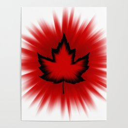 Cool Canada Souvenirs Poster