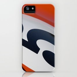 Racer Five iPhone Case