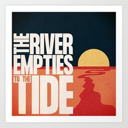 Find the River Art Print