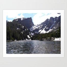 Bear Lake - Rocky Mountain National Park Art Print