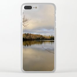 Fringed By Beauty Clear iPhone Case