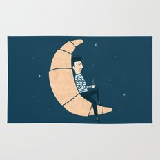 Ze Croissant Moon Rug