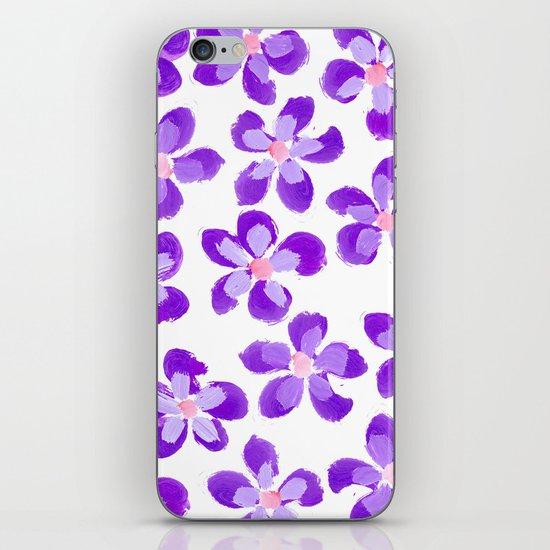 Posey Power - Purple Multi iPhone & iPod Skin