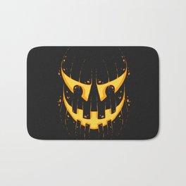 Pumpkin Smile Bath Mat
