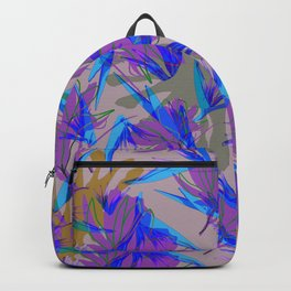 Bird of Paradise and Cosmos Backpack