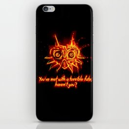Majora's Mask Fire iPhone Skin