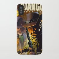 django iPhone & iPod Cases featuring Django by Don Kuing