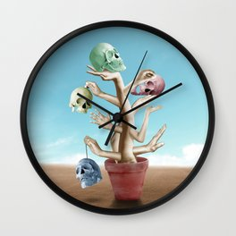 Dead Grow Wall Clock
